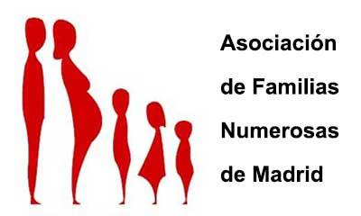 Logo Asociación Familias Numerosas Madrid Anwaydo